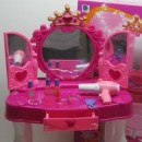 Girls games Barbie new cosmetic table