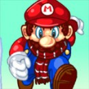 بازی ماریو در زمستان