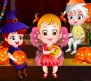 Kid's party games Baby Hazel Halloween