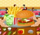 بازی مدیریت همبرگر فروشی