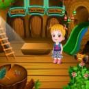 هازل کوچولو در خانه چوبی