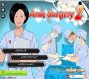 بازی آنلاین باحال جراحی دست