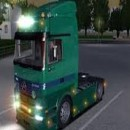 Truck games riding in the city of کالیفورنیا