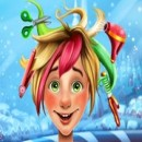 Christmas boy hair hairdresser