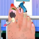 بازی جراحی ناخن دختر