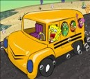 SpongeBob games on the school bus