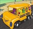 بازی باب اسفنجی در اتوبوس مدرسه