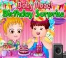 بازی مراقبت از بچه هازل -سوپرایز تولدت مبارک