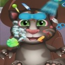 بازی حمام بردن گربه آندرویدی سخنگو