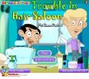 بازی آنلاین مستربین در آرایشگاه
