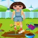 بازی باغبانی دورا
