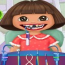 Girls online games Dora and Diego in dentistry