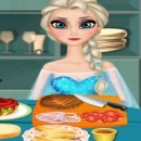 Game Cook hamburgers, Elsa