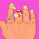 بازی پزشکی درمان قطع انگشت