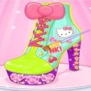 بازی طراحی کفش کیتی
