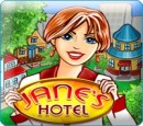 بازی آنلاین هتل خانم جین - دخترانه فلش   janes hotel