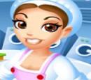 بازی دخترانه لباسشویی خشکشویی مدیریتی