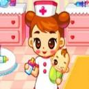 بازی آنلابن نگهداری بچه در بیمارستان