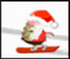 بازی انلاین Santa Snowboard