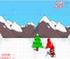 بازی انلاین Snowboarding Santa