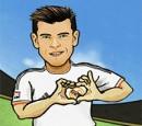 بازی فوتبال روپایی