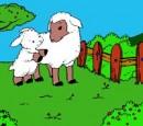 بازی رنگ آمیزی گوسفند شیرین