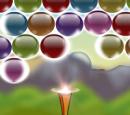 بازی پرتاب توپ رنگی آسمانی