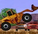 Bulldozer game riding