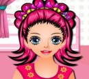 Girl makeup games (hairdressers, hair