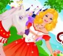 بازی مراقبت از اسب تک شاخ شاهزاده باربی