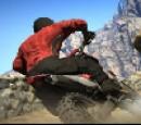 بازی مسابقه موتور سواری کویری | Crazy Motorcycle AX100