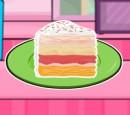 بازی دخترانه کیک سازی با طعم گرمسیری بستنی