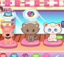 بازی خیالی مدیریت رستوران گربه ها