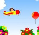 بازی دورا هواپیما سوار