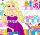 بازی خرید رفتن باربی برای نوزادش barbie shopping