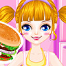 Android cooking games Burger and fries