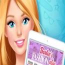 بازی  Barbie in Love with Fashion: Summer Patterns