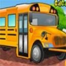 بازی تمیزکردن و کارواش اتوبوس مدرسه