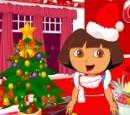دورا در شب کریسمس