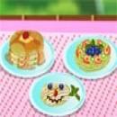 पाक कला स्वादिष्ट केक पैन