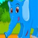 بازی تمیز  کردن بچه فیل