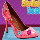 بازی طراحی کفش دخترونه