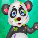 Messy Panda Care بازی نظافت