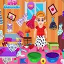 بازی تمیز کردن اتاق دختر