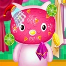 Girly trucco giochi Android pesche Kitty