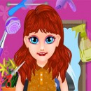 Corte de pelo de bebé Sofía