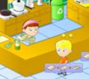 بازی آنلاین فلش دخترانه مدیریت رستوران فرنگی