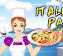 بازی آشپزی و پخت و پز فلش دخترانه رول بهار پاستا