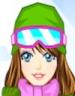 Skiing Dash بازی دختران اسکی باز
