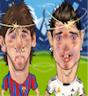 Ronaldo vs Messi بازی رونالدو در مقابل مسی